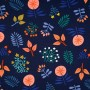 Wild Wonders Canvas Navy - Cozy Cabin Collectie Hamburger Liebe