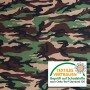 Stofstaal ca. 2x4cm - Louis - Camouflage / Camouflagedruk Sweat